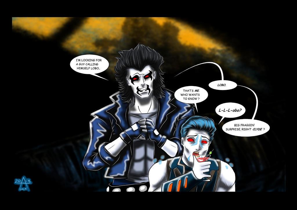 Two Lobo's go into a bar... by adamantis