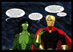 Gamora and Adam Warlock