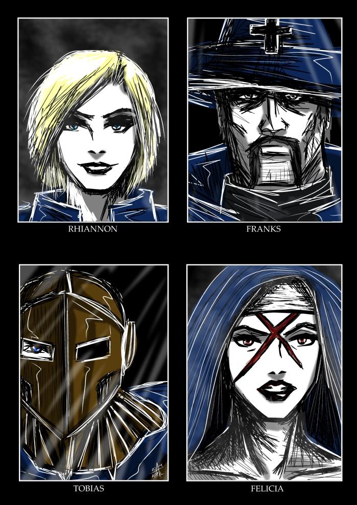 Caliba - Four Templars by adamantis