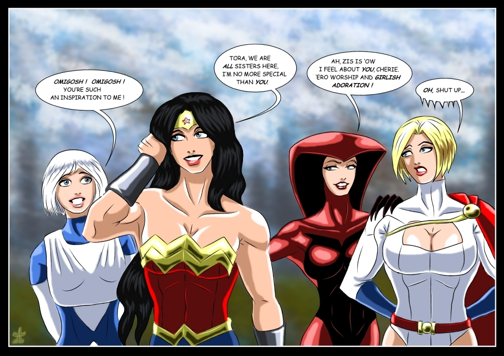 Justice League International - Idols by adamantis