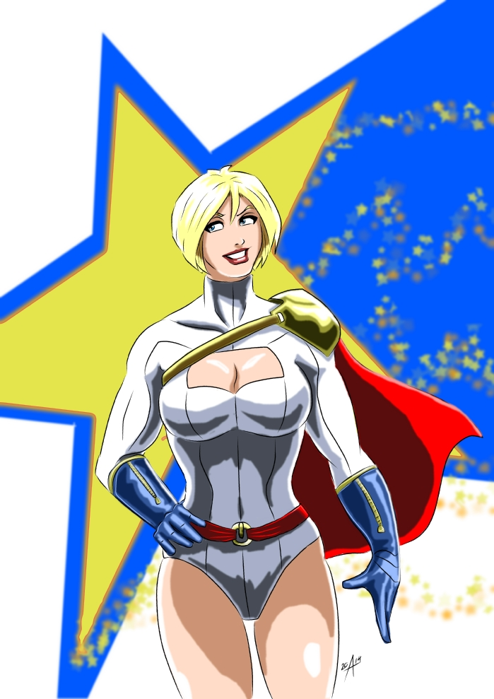 Power Girl - Modern Era by adamantis