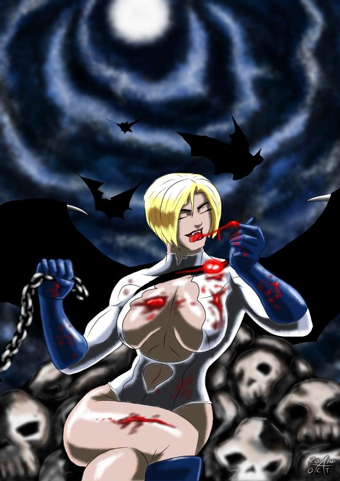 Halloween Power Girl - Vampire Queen by adamantis