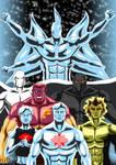 Captain Atom - Quantum beings ( Modern Era  DC )