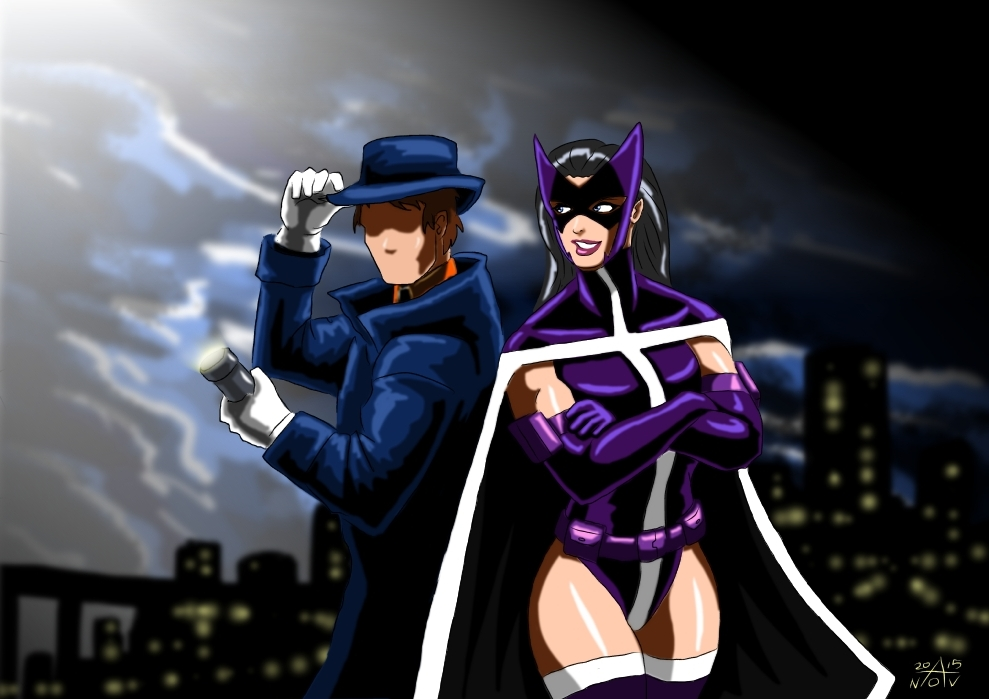 Question and Huntress - Modern Era by adamantis on DeviantArt