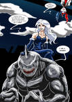 Killer Frost and King Shark III
