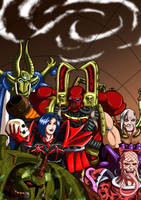 Warhammer 40'000 - The Gathering by adamantis