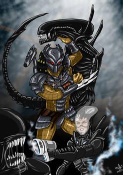 Aliens Vs Predator - Unstoppable