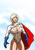 Power Girl by adamantis