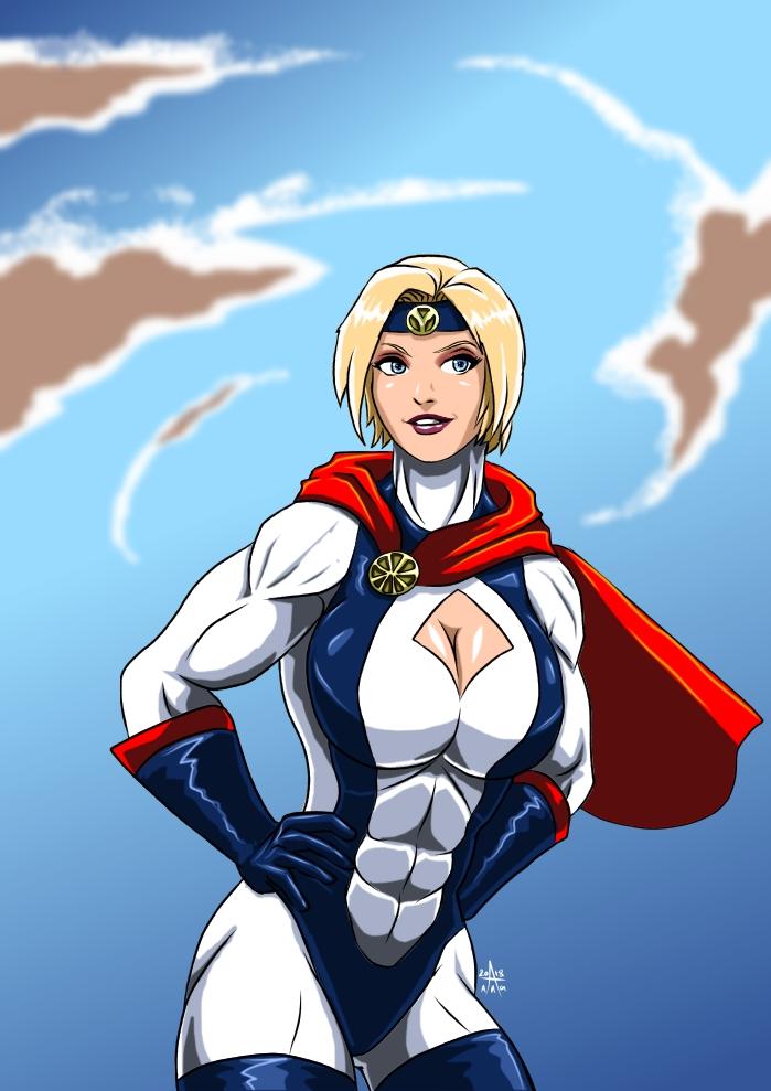Power Girl - 90's Atlantean style by adamantis