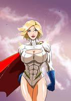 Power Girl - Bulletproof by adamantis