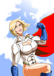 Powergirl - Welcome to the New year by adamantis