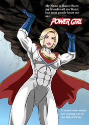 Power Girl - My name is... by adamantis