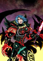 Warhammer 40'000 - Miriael Sabathiel by adamantis