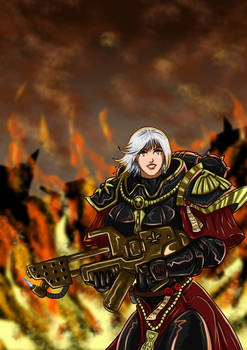 Warhammer 40k - Sister of Battle Purify with fire