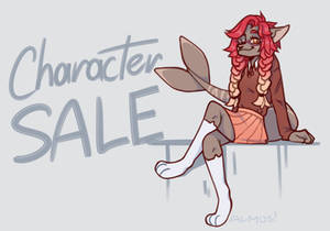 CHARACTER SALE!