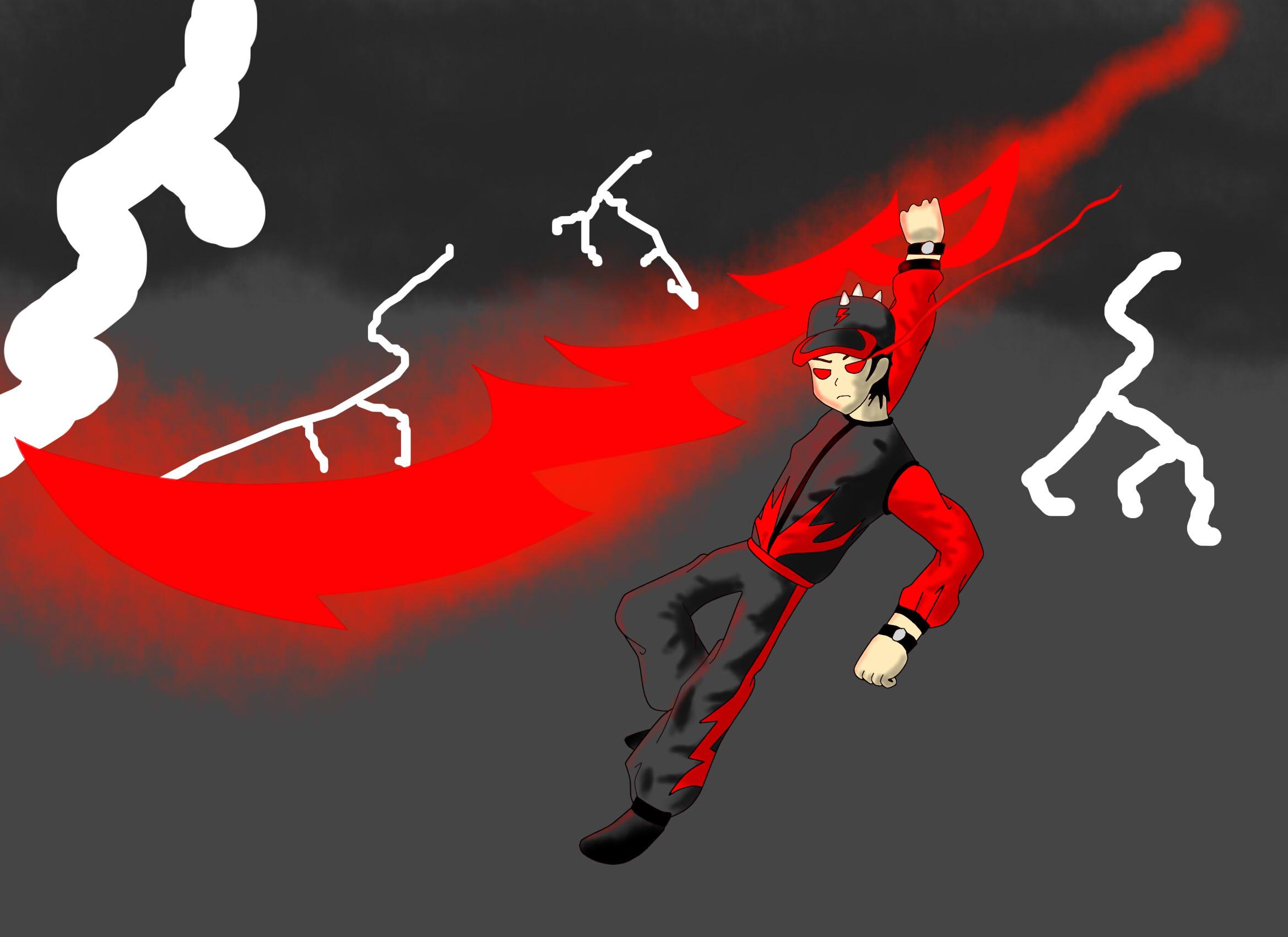 Boboiboy Halilintar Boboiboy Thunderstorm Boboiboy Anime