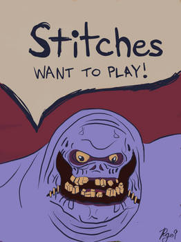 Stitches Want To Play!