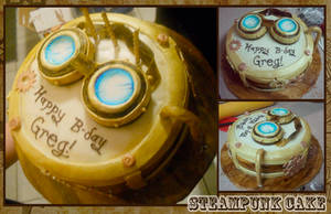 Steampunk Cake by silencedwhispers