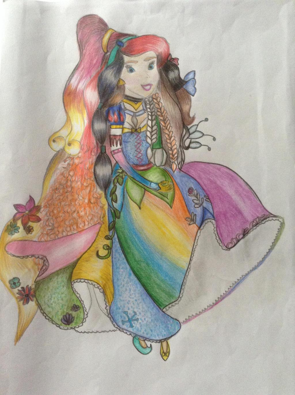 Disney Princess Fan Ar...