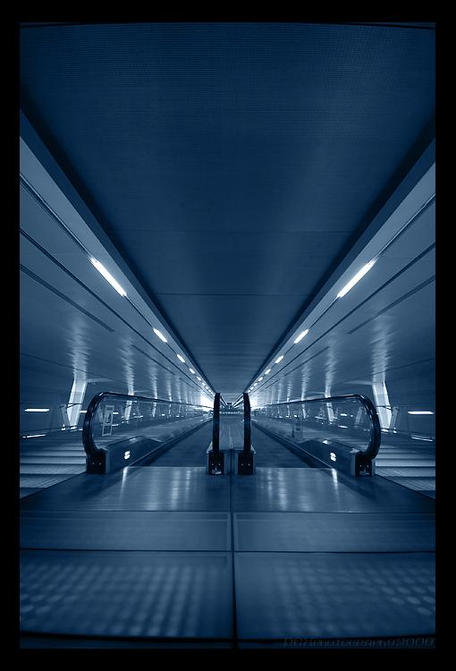 Terminal Three Travelator... by CommanderDex