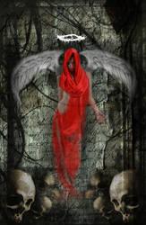 Red Angel by djwwinters