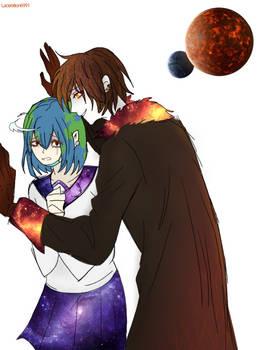 Earth-chan x Nibiru-kun