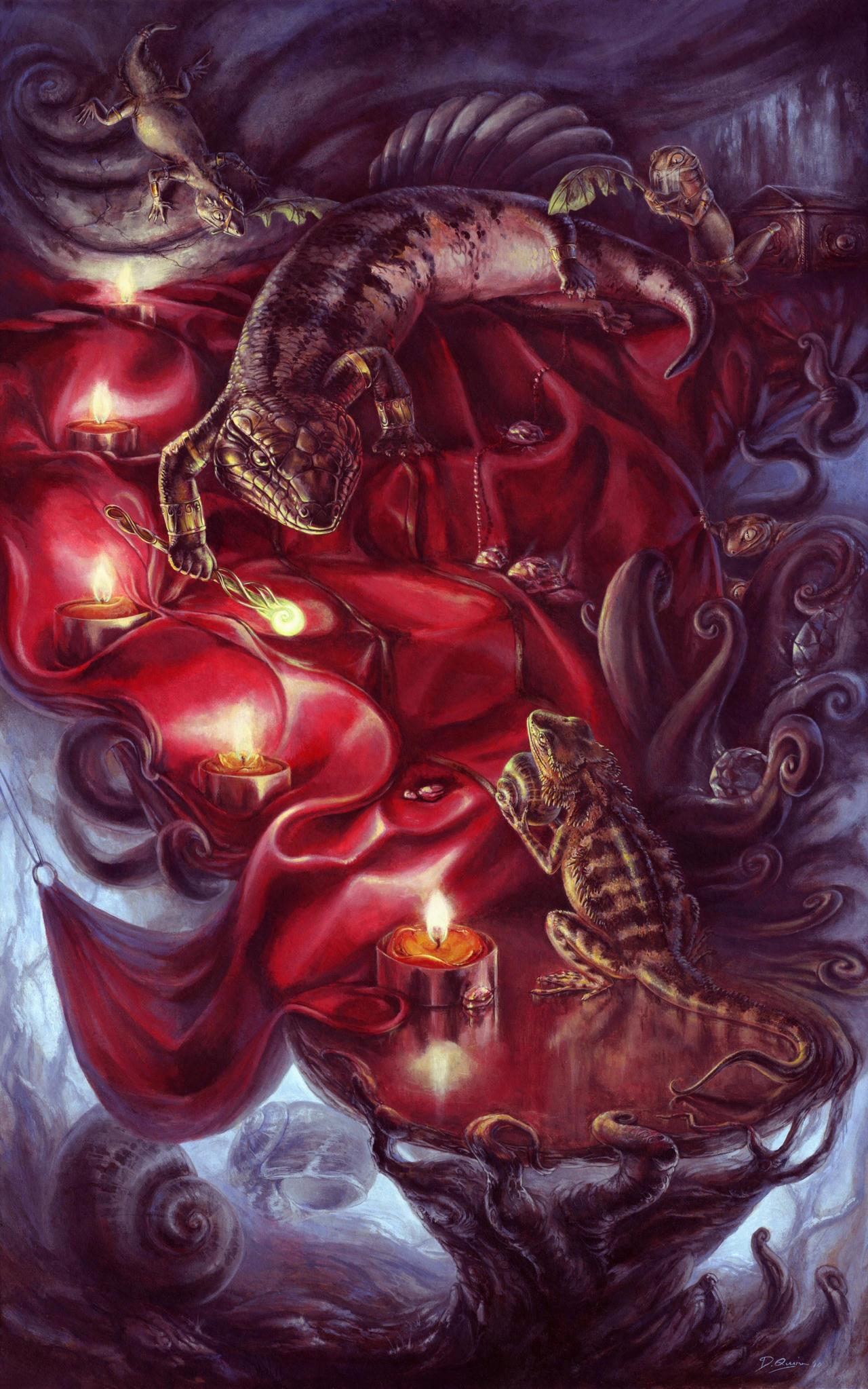 Sacred Coil by donnaquinn
