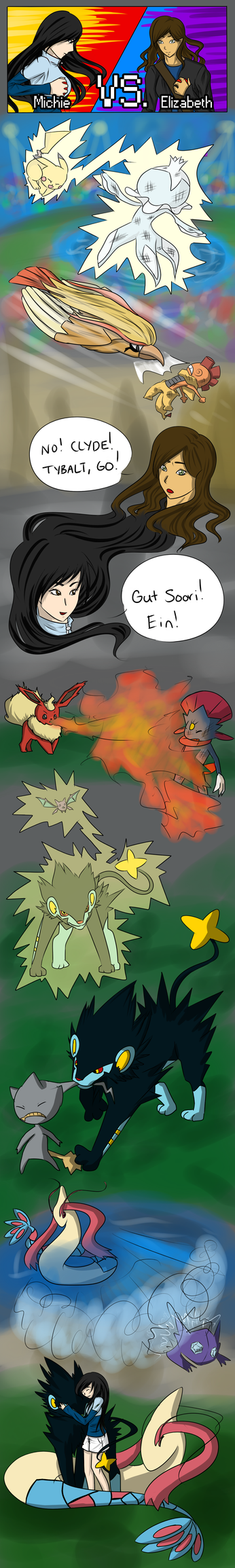 PE: First Battle! by Unreturned