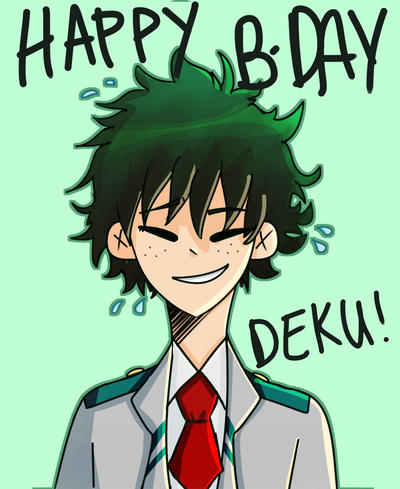DEKU!! by cabbage-leaf