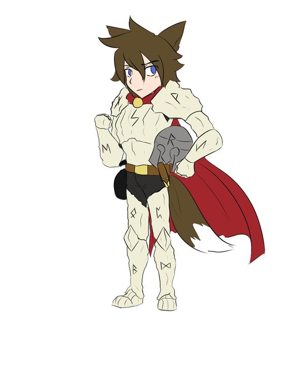 Rune Knight Caden by CadenGallic