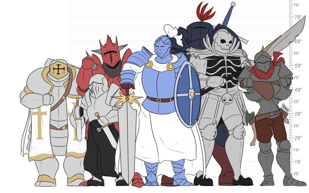 The 7 knights of Galothiel by CadenGallic