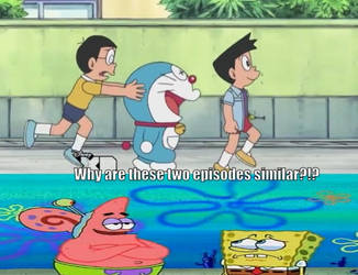 Doraemon/Spongebob Meme 1 by CartoonAnimes4Ever