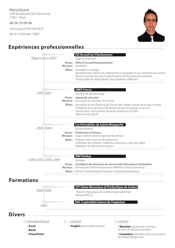 Curriculum Vitae CV C.V. by shark-graphic