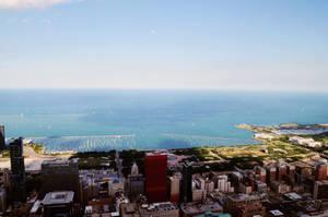 Above Chicago 1 by maerocks