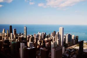 Above Chicago 2 by maerocks