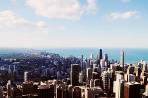 Above Chicago 3 by maerocks