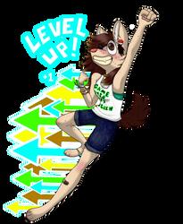 Level Up! by SwiftpawTheWolf