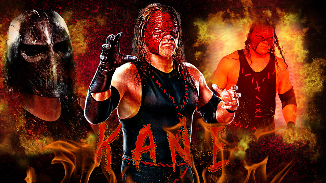 WWE Kane Wallpaper by MarcusMarcel