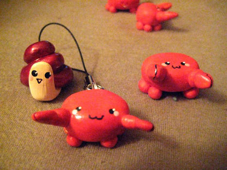 Crabs and Snail :3 by ayame87
