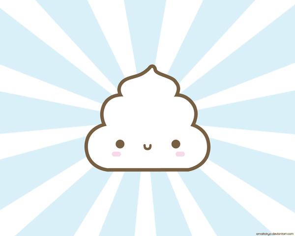 Poo Poo Wallpaper by amaitokyo