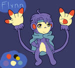 Flynn The Ambipom Reference by GhostFalcon642