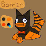 Boman The Porygon Reference by GhostFalcon642