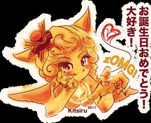 Happy Birthday zOMG by Kitsiru