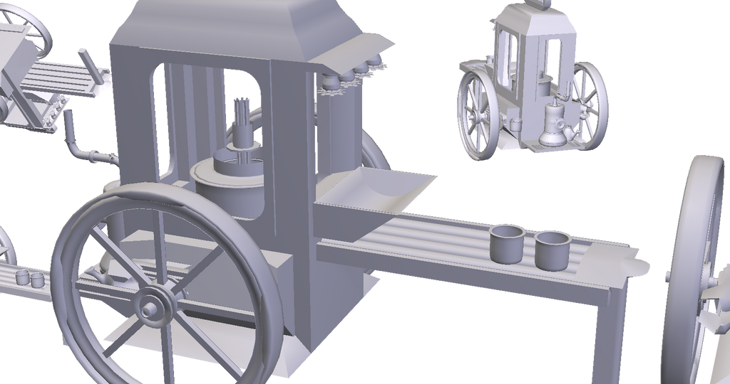 Popcorn Candy Cart - WIP by Fesothe