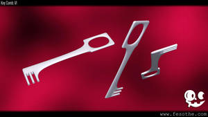 Key Comb V1 by Fesothe