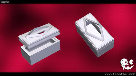 Tissue Box by Fesothe