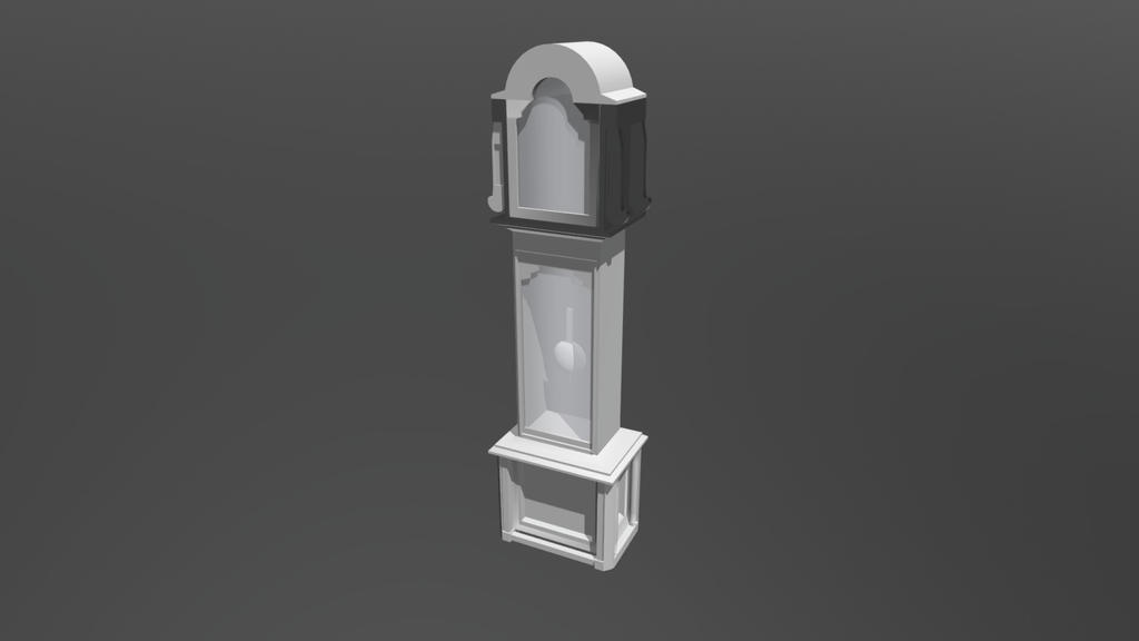 Grandfather Clock - WIP by Fesothe