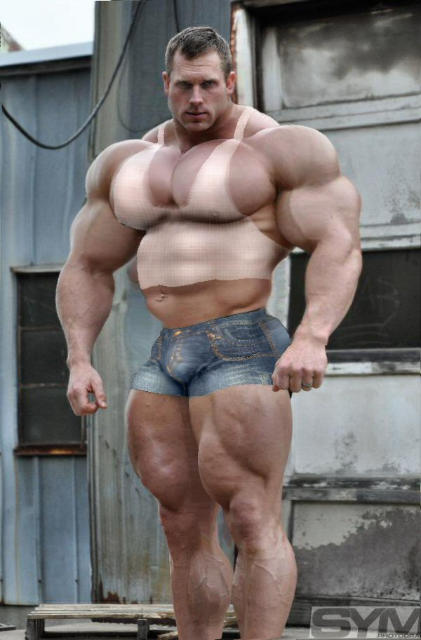 huge muscle gay