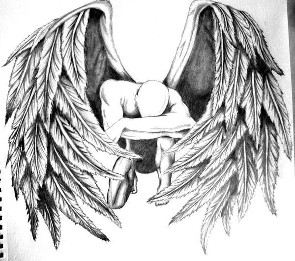 Fallen Angel Drawing I...