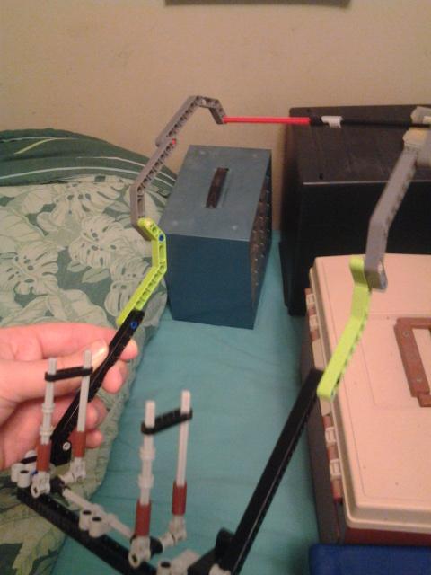 lego recording rig by sideshowOfMadness